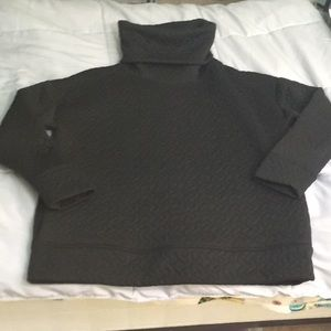 Gap quilted cowl neck